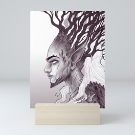 Tree Spirit - Dryad King Mini Art Print