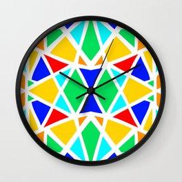 Candy Glass Wall Clock