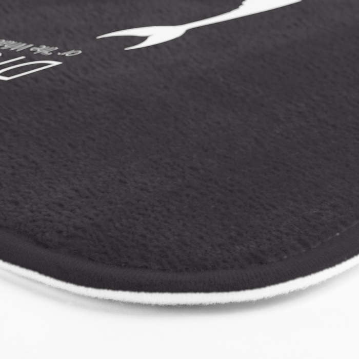 Moby Dick - Herman Melville Book Bath Mat