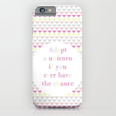 Adopt a Unicorn iPhone 6s Slim Case