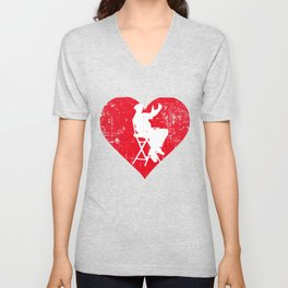 A Heart For Directors - Theater Director Unisex V-Neck