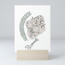 The Sewing Machine Escape Mini Art Print