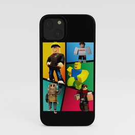 Roblox heroes iPhone Case