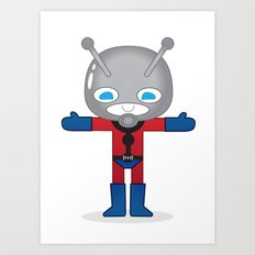 ANTMAN ROBOTIC Art Print