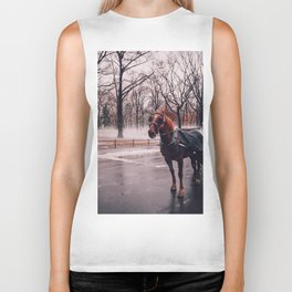 NYC Horse and Carriage Biker Tank