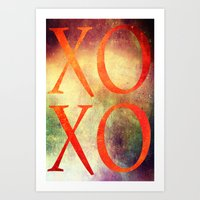 xoxo Art Prints featuring XoXo by Fine2art
