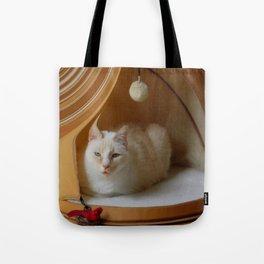 My cat is my zen master Tote Bag