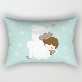 Yeti Rectangular Pillow