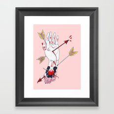 Love Me Framed Art Print