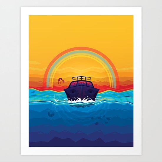 SummerTrip Art Print