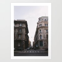 budapest Art Prints featuring Budapest by Andreas Gillström