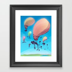 Balloon Animals Framed Art Print