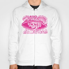 Calavera Catrina | Pink and White Hoody