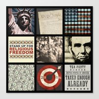 politics Canvas Prints featuring Conservative Politics by politics