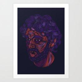 Pau Gasol Art Print