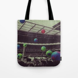 Coldplay at Wembley Tote Bag
