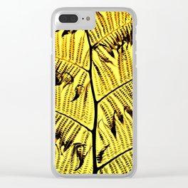 Hapu'u Clear iPhone Case