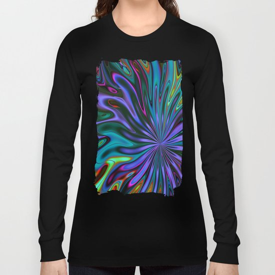 Color splash Long Sleeve T-shirt