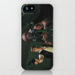Hokey religions and ancient weapons are no match for a good blaster at your side iPhone Case