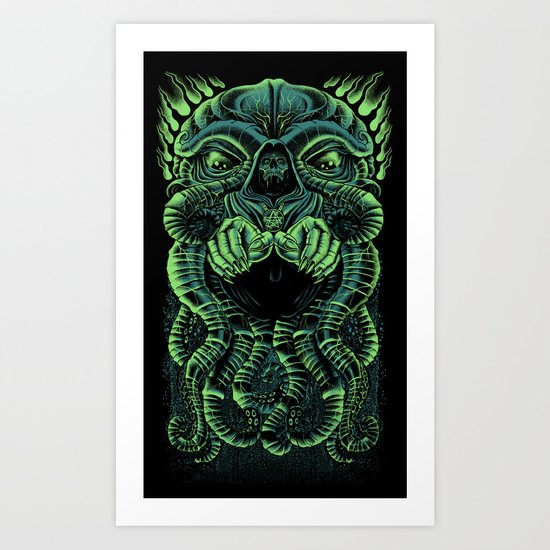 The Cultist Art Print