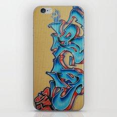 Blue & Yellow iPhone & iPod Skin
