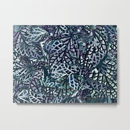 Tropical Jungle Leaves Mosaic #decor #buyartprints #society6 #botanical Metal Print