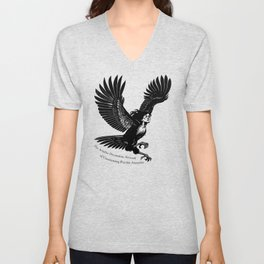 Ariadne Dreamtime Network of Unassuming Psychic Assassins Harpy Unisex V-Neck