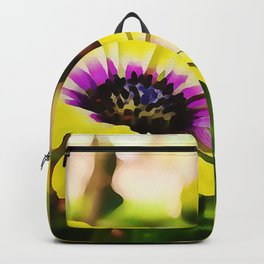 Watercolour Daisies Backpack