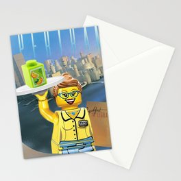 Breakfast in Legoland Stationery Cards