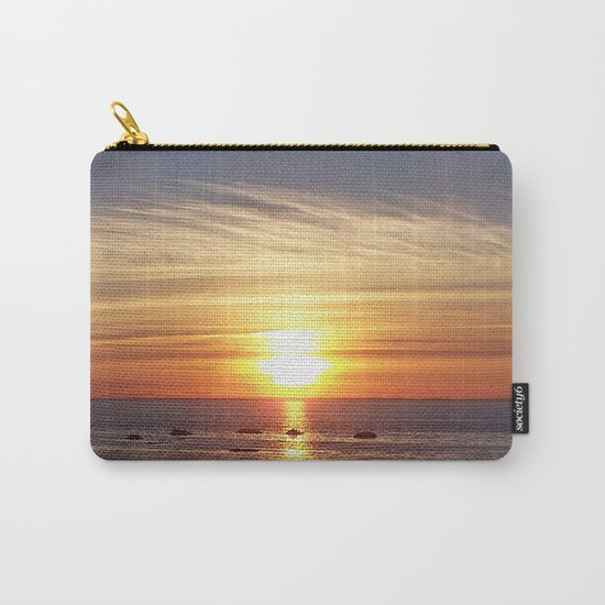 Gaspesie Sunset Carry-All Pouch