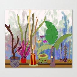 Veranda Garden Canvas Print