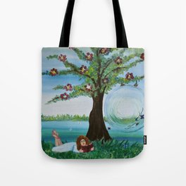 Read me a story Tote Bag
