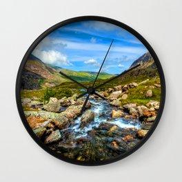 White Rocks ||| Wall Clock
