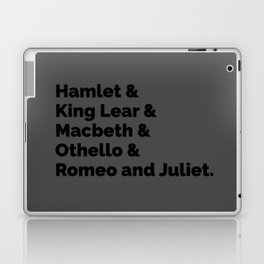 The Shakespeare Plays II Laptop & iPad Skin