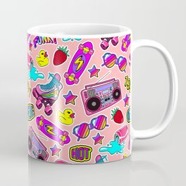 Back to the nineties! Peach Coffee Mug