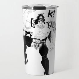 Maori kiss Travel Mug