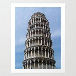 Tower in Pisa Art Print