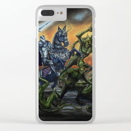 Paladin Clear iPhone Case