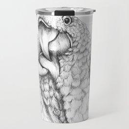 Macaw Pair In Love Travel Mug