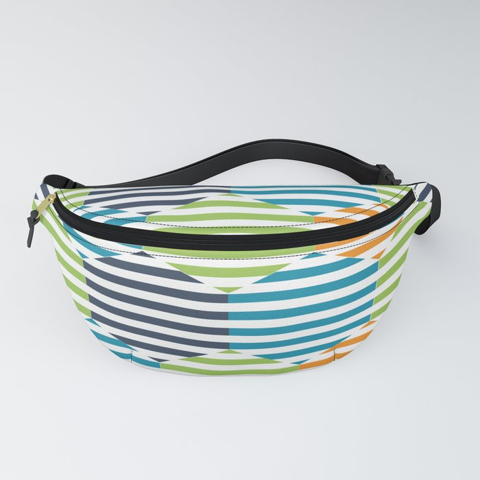 Color Hexagons Fanny Pack