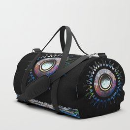 Reflections in the water Duffle Bag