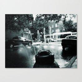 City Stream Canvas Print