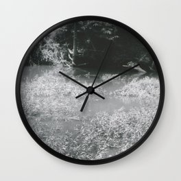 Murky Water Wall Clock