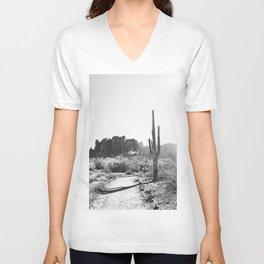 Arizona Desert Unisex V-Ausschnitt