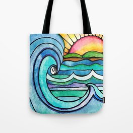 Beachy #society6 #spring #summer Tote Bag