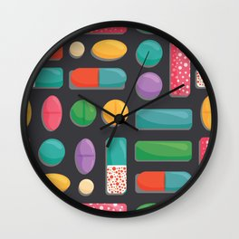 Beverly Hills Vice Wall Clock