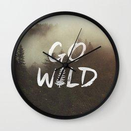 Go Wild Wall Clock