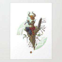 Children of the Stars: Tauro Art Print