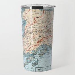 Vintage Map of Alaska (1921) Travel Mug