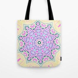 Abstract Paradise - Blue Pinwheel Tote Bag